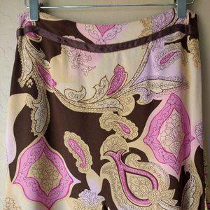 Liz Claiborne Skirts - Liz Claiborne Petite Paisley Skirt, 4P
